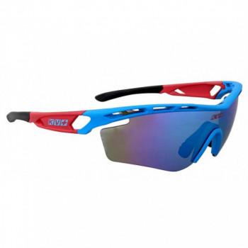 Очки KV+ SPRINT SG11.1 1 LENS blue/red