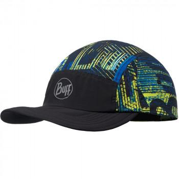 Кепка Buff RUN CAP 117191.555.10.00 effect logo multi