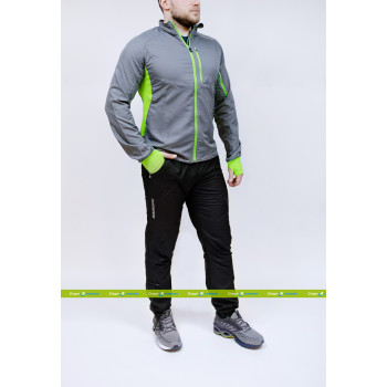Беговой костюм Noname Robigo Endurance Grey/Green (Robigo Grey/Green – Endurance)