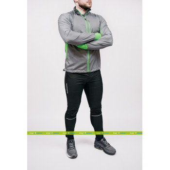 Беговой костюм Noname Robigo Running Grey/Green (Robigo Grey/Green – Running)