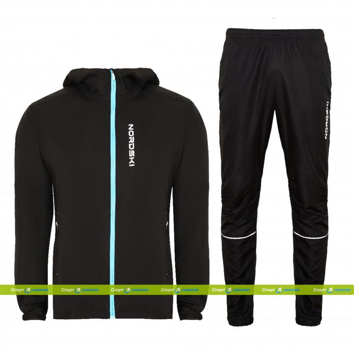 Беговой костюм Nordski Run Black/Black (NSM278700 – NSM635100)