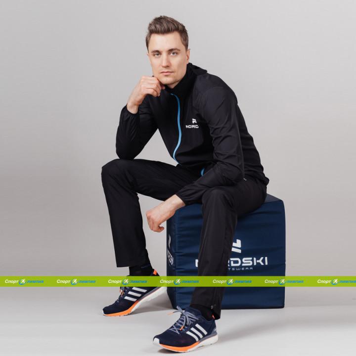 Беговой костюм Nordski Run Black/Blue (NSM278700 – NSM647100)