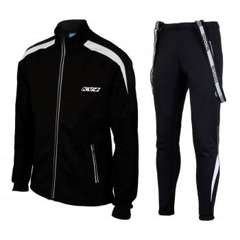Лыжный разминочный костюм KV+ Lahti Warm (8V110.1 - Lahti 8V111.1 black)
