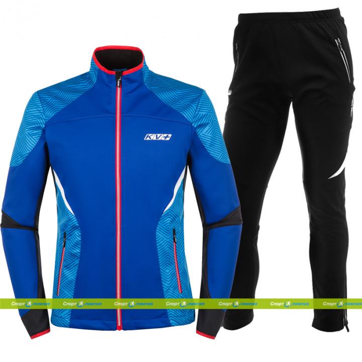 Лыжный разминочный костюм KV+ Lahti (9V116.4 - Lahti 7V117.1 black)