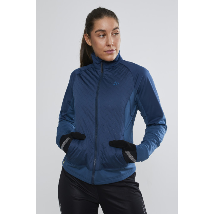 Куртка разминочная Craft Fusion XC 1906504 698677 TIDE/FJORD