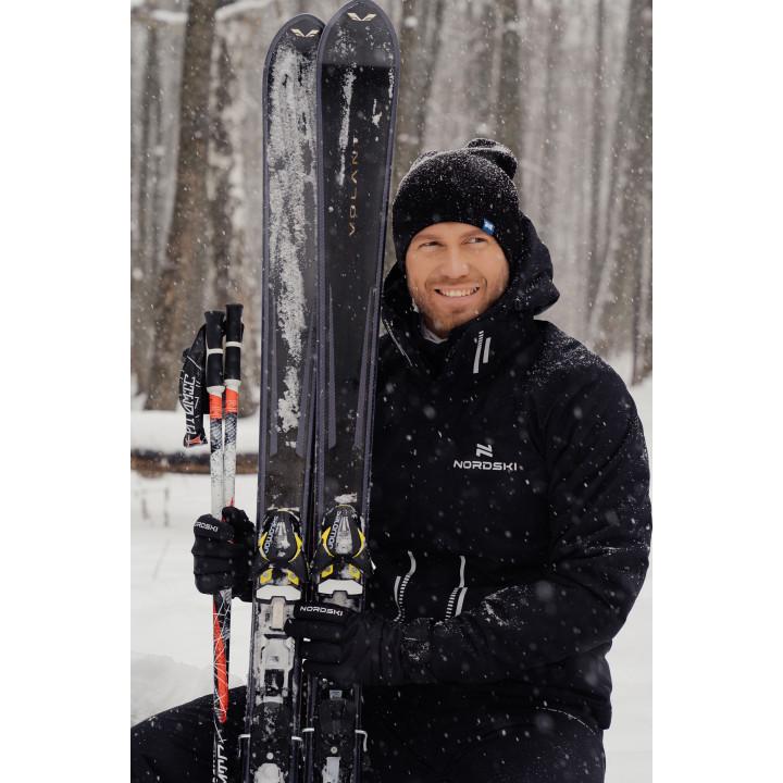 Горнолыжный костюм Nordski Extreme Black мужской