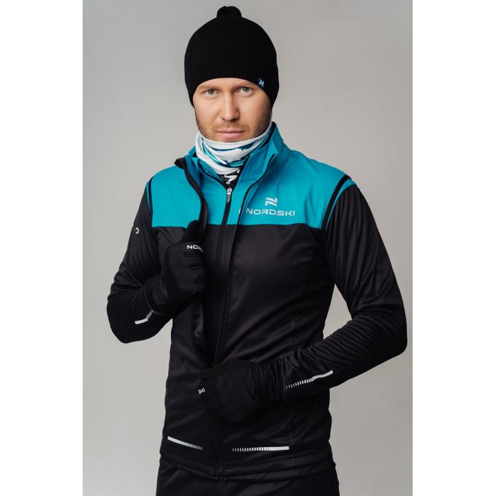 Куртка разминочная Nordski PRO NSM544735 breeze/black