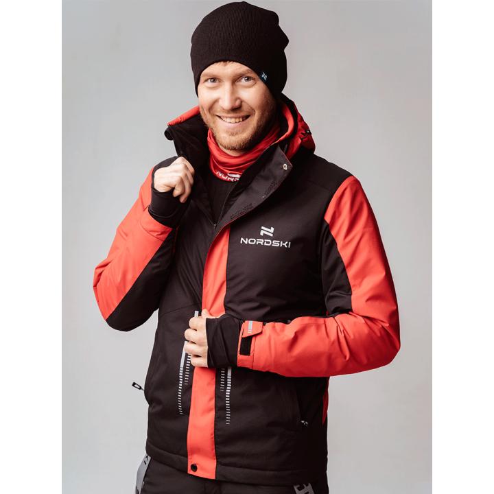 Куртка горнолыжная NordSki EXTREME NSM560910 black/red