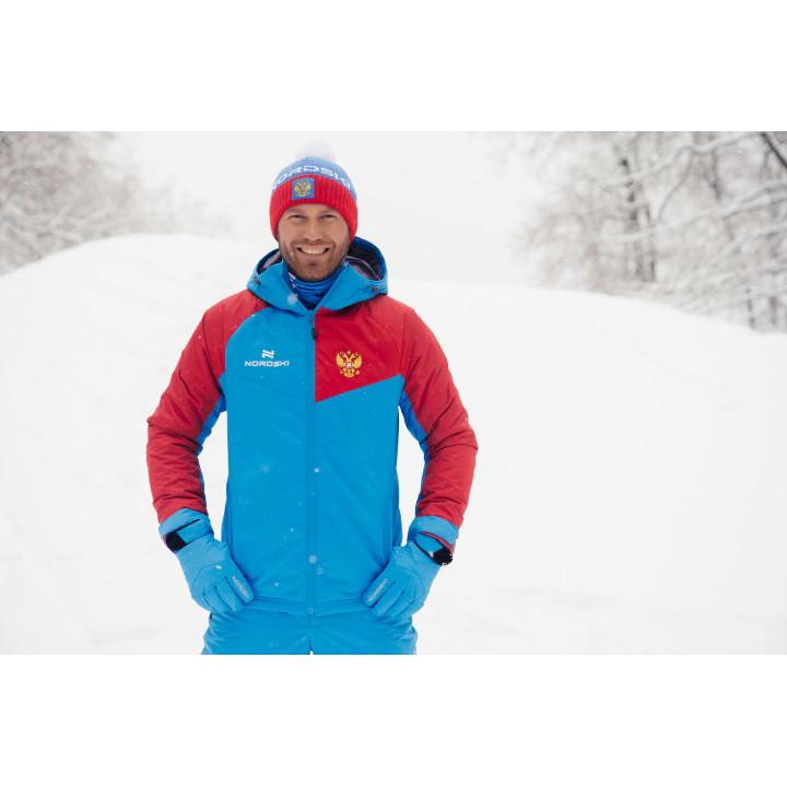 Куртка утепленная NordSki NATIONAL 2.0 NSM430790 blue/red