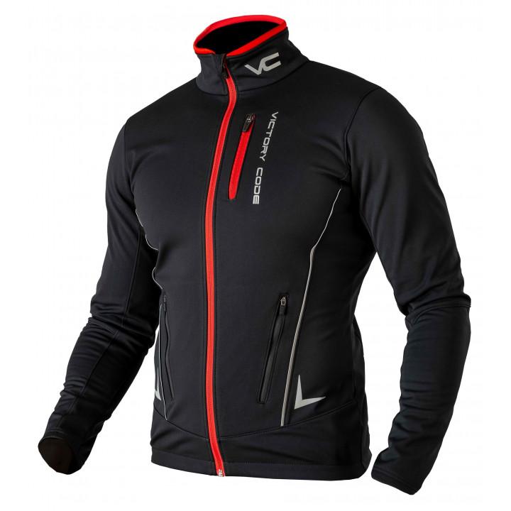 Куртка разминочная Victory Code SPEED UP W221 black