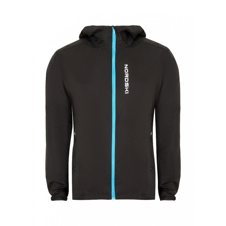Куртка NordSki RUN NSM278700 black/blue