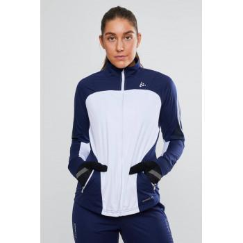 Куртка разминочная Craft SHARP XC 1906489 900391 white/maritime
