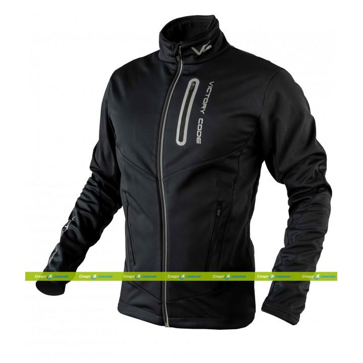 Куртка разминочная Victory Code GO FAST black