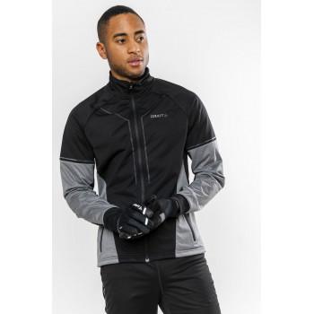Куртка разминочная Craft Storm 2.0 XC 1904258 999975 черн/серый