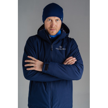 Куртка утепленная NordSki PULSE NSM434024 dress blue