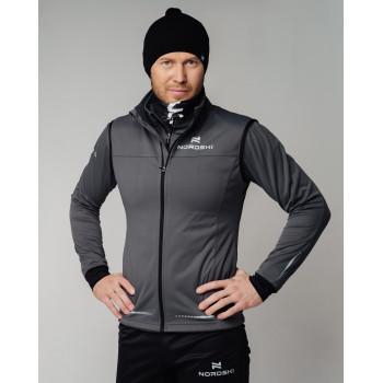 Куртка разминочная Nordski PRO NSM544201 graphite