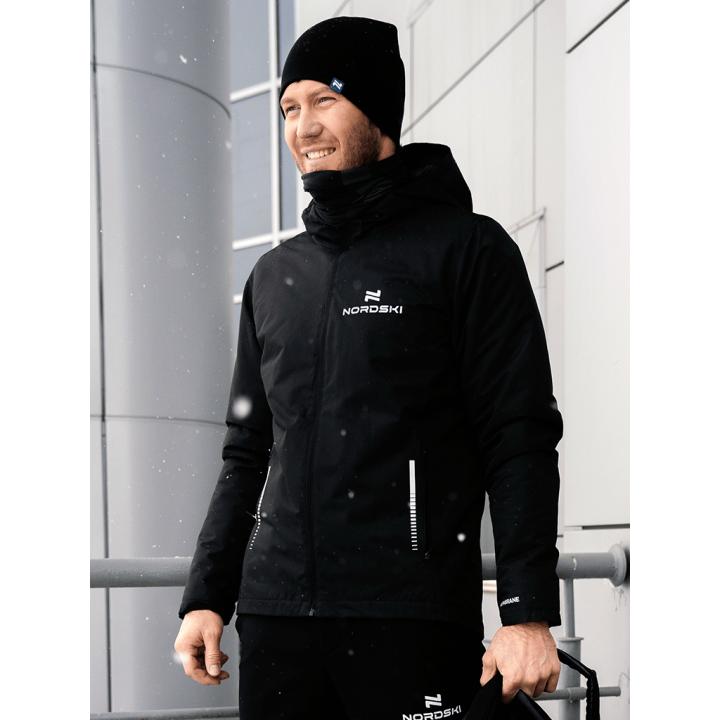 Куртка утепленная NordSki URBAN NSM530100 black