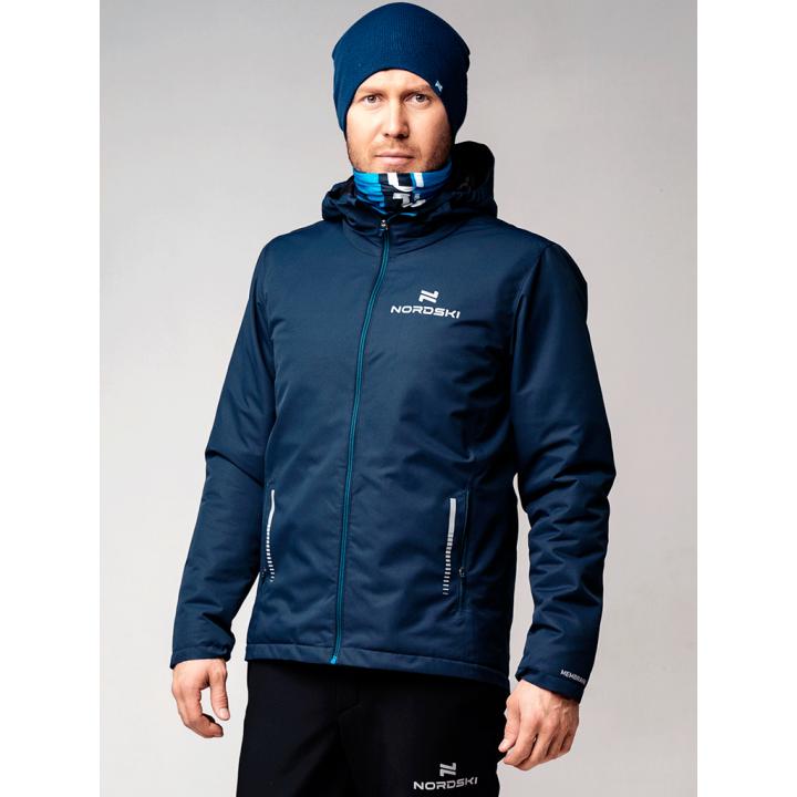 Куртка утепленная NordSki URBAN NSM530710 dark blue