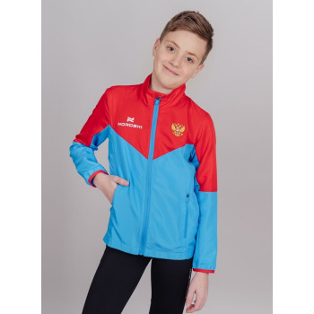Куртка NordSki SPORT NSJ178987 red/ blue