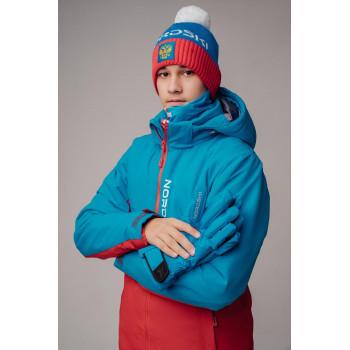 Куртка утепленная NordSki MONTANA JR. NSJ518879 blue/red