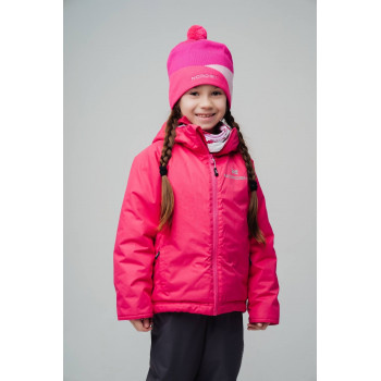 Куртка утепленная NordSki MOTION KIDS NSK309890 raspberry