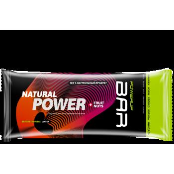 Энергетический батончик Powerup BAR FRUIT+NUTS миндаль