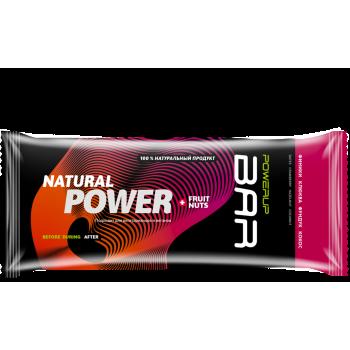 Энергетический батончик Powerup BAR FRUIT+NUTS кокос