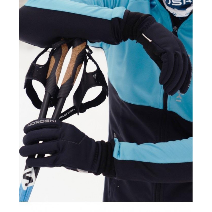 Перчатки NordSki ARCTIC JR. NSJ246100 black