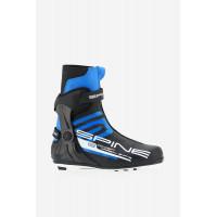 Ботинки лыжные NNN коньковые Spine CONCEPT CARBON SKATE 298 black/blue/white