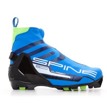 Ботинки лыжные NNN Spine CONCEPT CLASSIC 294 blue/lime