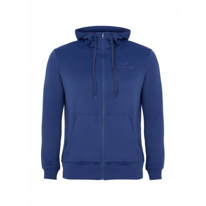 Толстовка NordSki Base Zip Hood т.синий