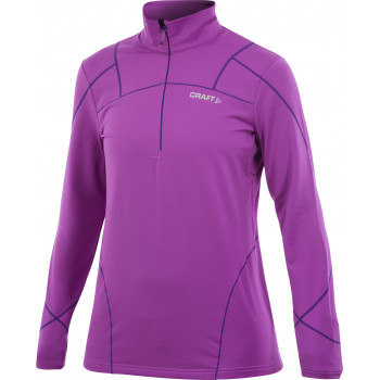Толстовка Craft TH. STRETCH PULLOVER W 1902249 2490 orchid-m