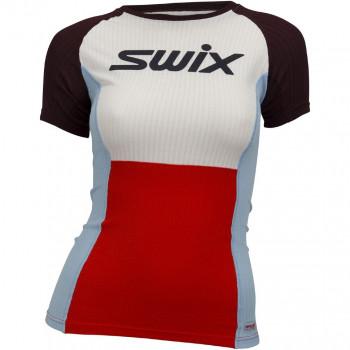Футболка Swix RACEX SS 40806 99992 ярко-красный