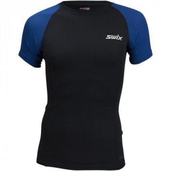 Футболка Swix RACEX SS 40801 75100 тёмно-синий