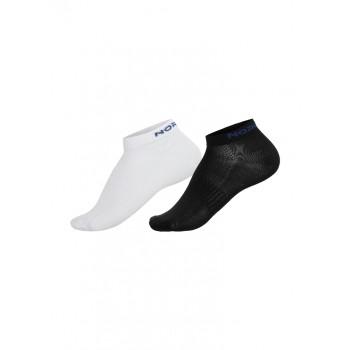 Носки комплект NordSki RUN NSV406011 2 пары black/white