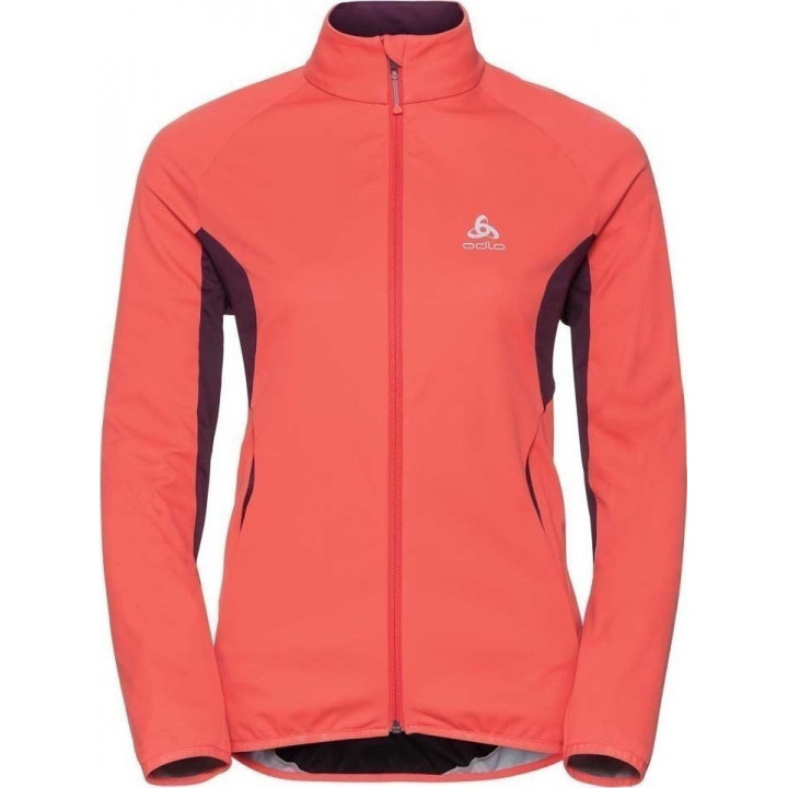 Куртка разминочная Odlo Stryn Softshell 612311 30321 оранж/борд