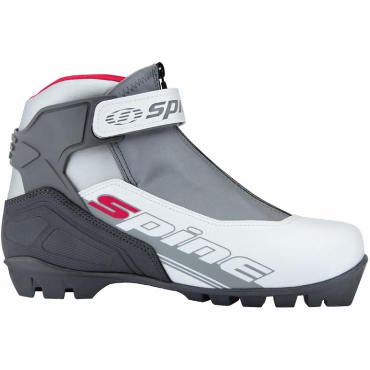 Ботинки лыжные NNN коньковые Spine X-Rider 2017 254/2 серо/белый