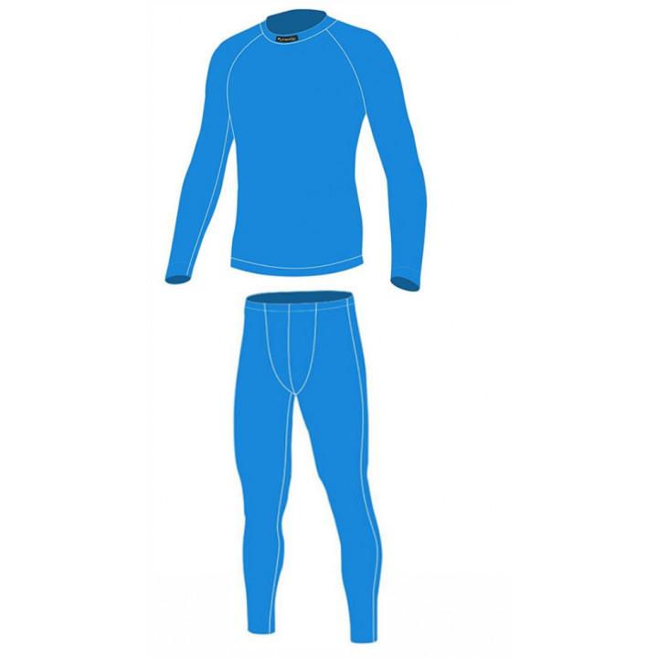 Термокомплект Nordski Jr Warm голубой