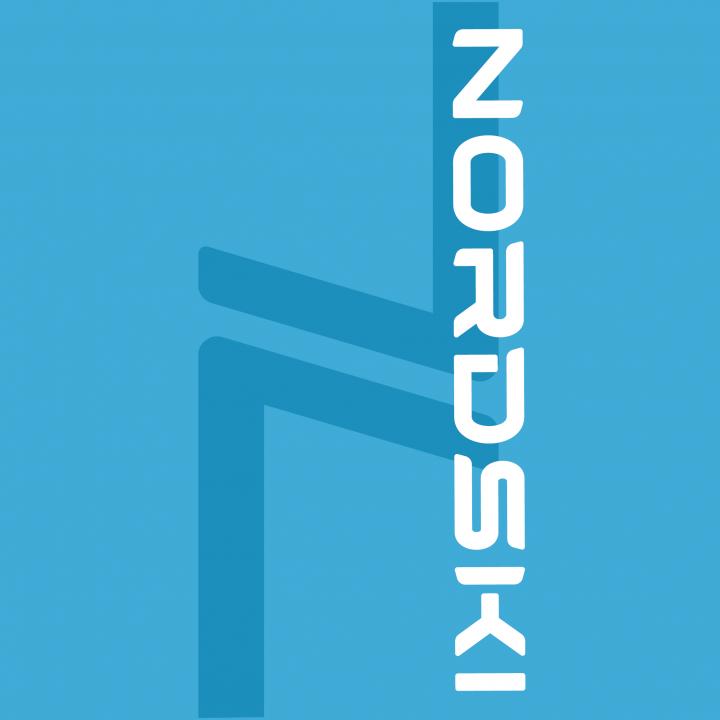 Баф NordSki LOGO NSV410790 light blue