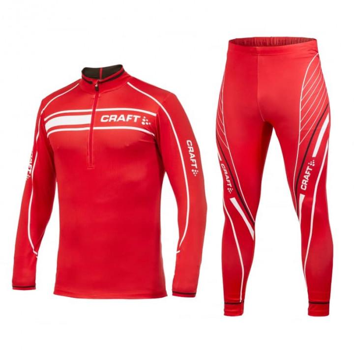 Комбинезон гоночный Craft Performance 1902812/1902813 2430 красный/белый
