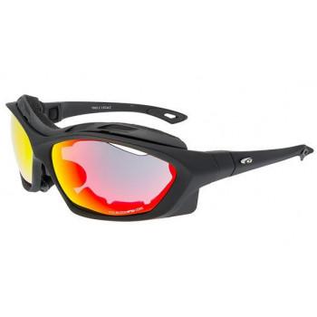 Очки GOGGLE COLOSSO+ T662-2 резинка накладка. matt black