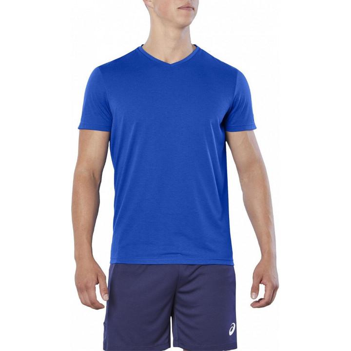 Футболка Asics ESNT SS TOP HEX 155233 400 синий