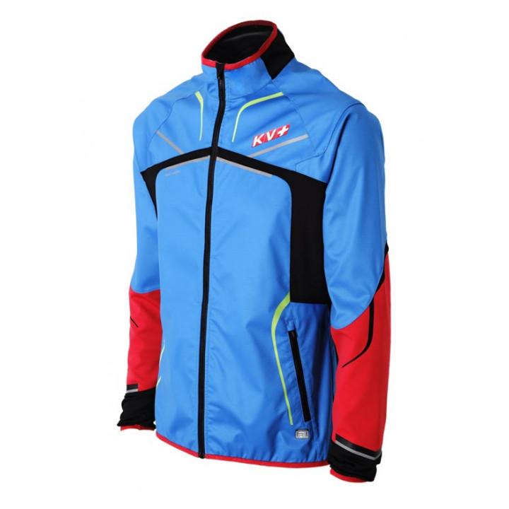 Куртка разминочная KV+ DAVOS 8V140/23 blueredgreen
