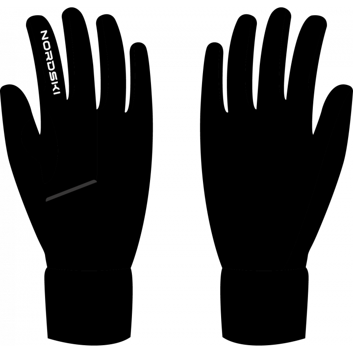 Перчатки NordSki ARCTIC NSU244100 black