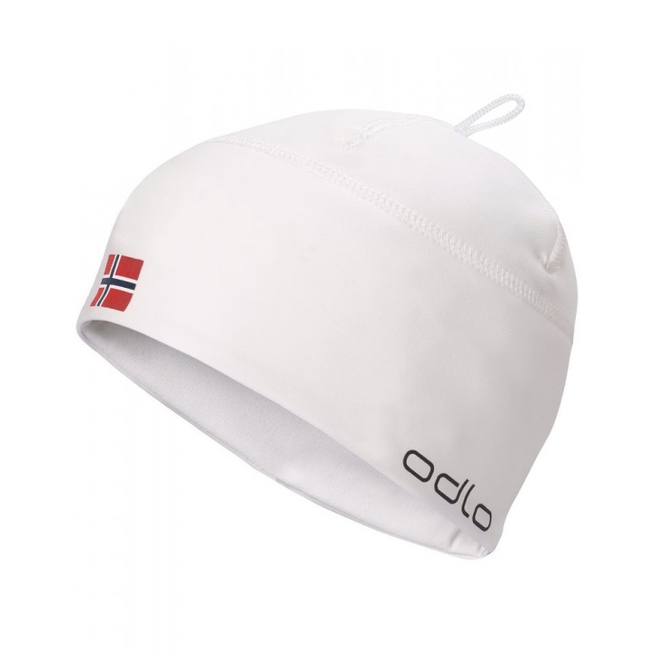Шапка гоночная Odlo Polyknit Light Fan 772120 10072 белый норв.