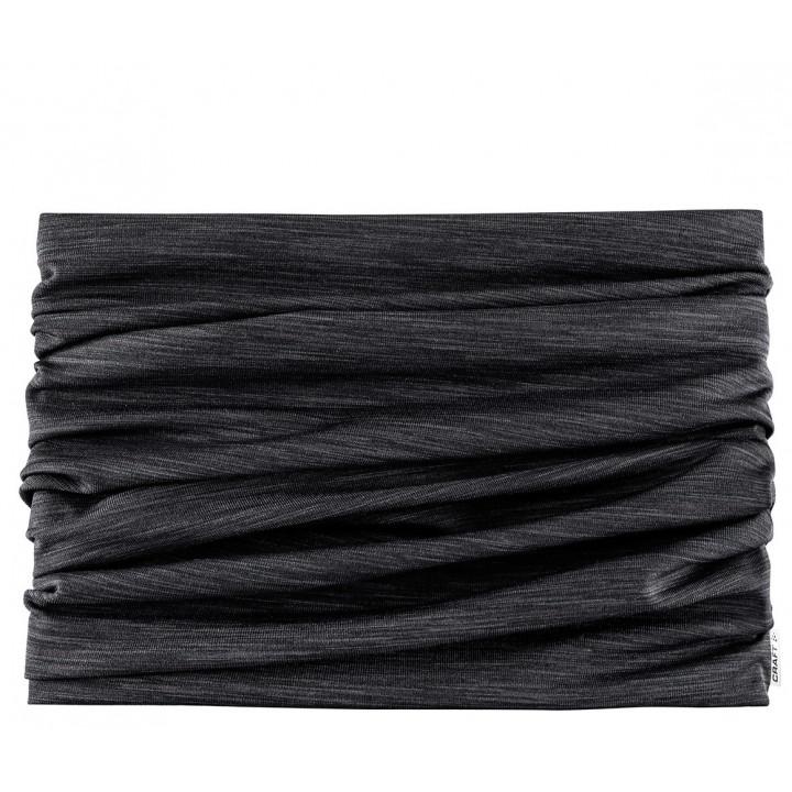 Баф Craft MELANGE JERSEY 1906655 998000 black melange