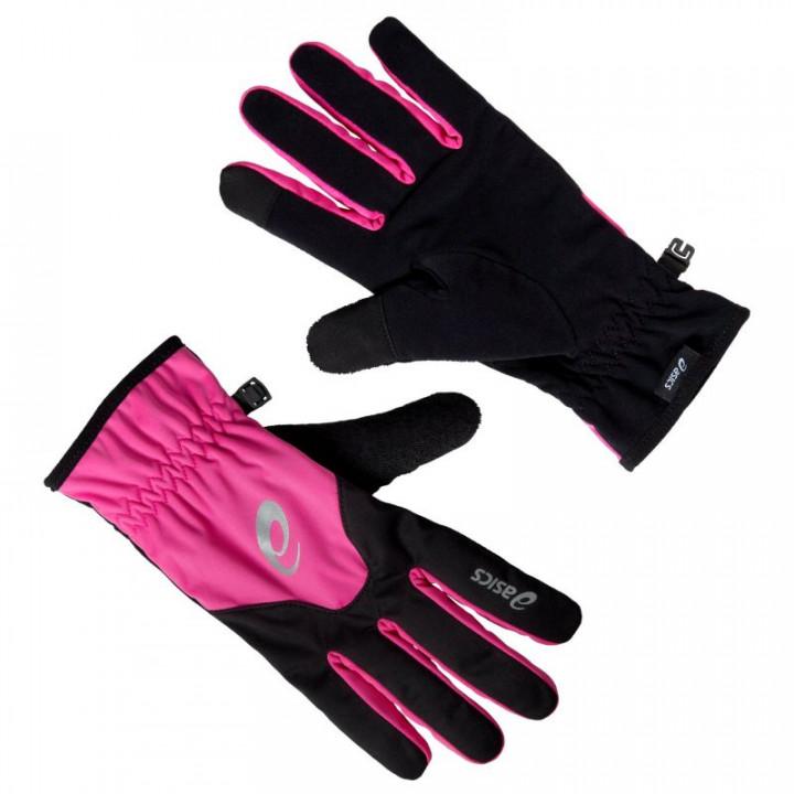 Перчатки Asics Winter 128109 0692 черный/розовый