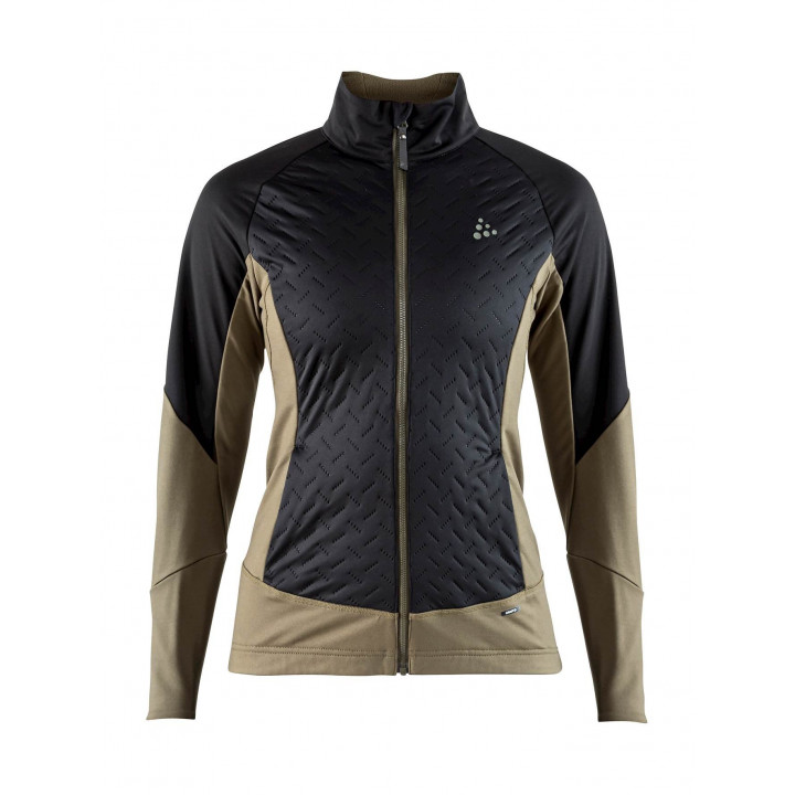 Куртка разминочная Craft Fusion XC 1906505 999648 BLACK/DK