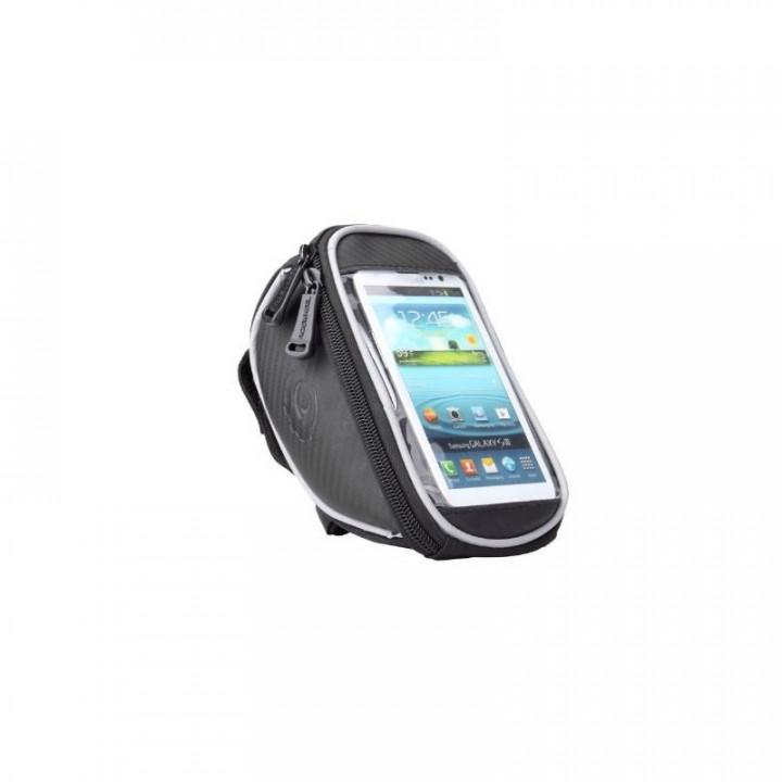 Велосумка - для сенсорн.телефона водозащитная с креплением на руль 2