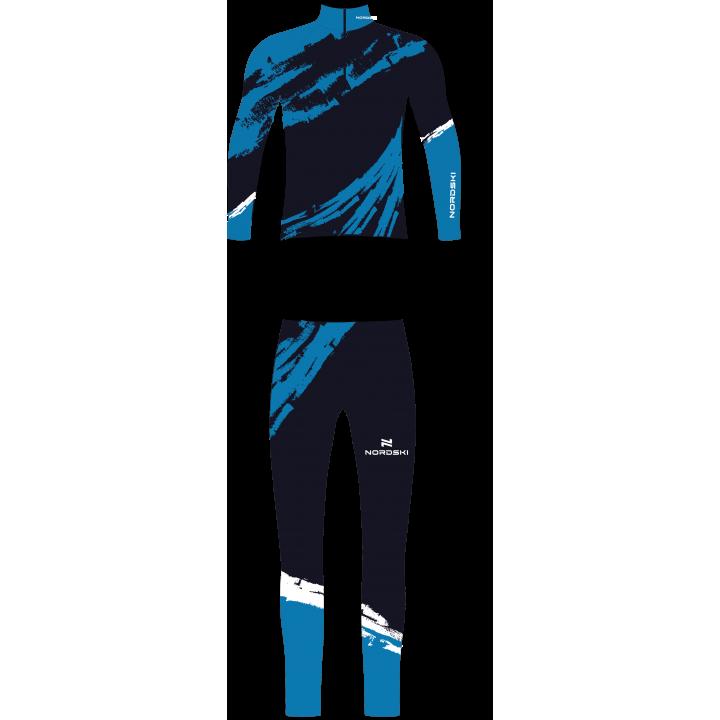 Комбинезон гоночный NordSki PREMIUM JR. NSJ434236 deep blue